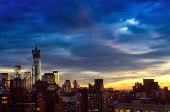 Photo: Blue skies smiling at me  #Nyc  #newyorkcity  #worldtradecenter