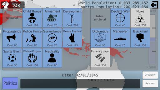World Peace Simulator 2015 1.29 screenshots 2
