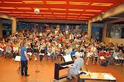 "Photo: 2. Gesamtprobe ""Carmina burana"", Aula des Pius-Gymnasiums, Aachen / 19.06.2010"