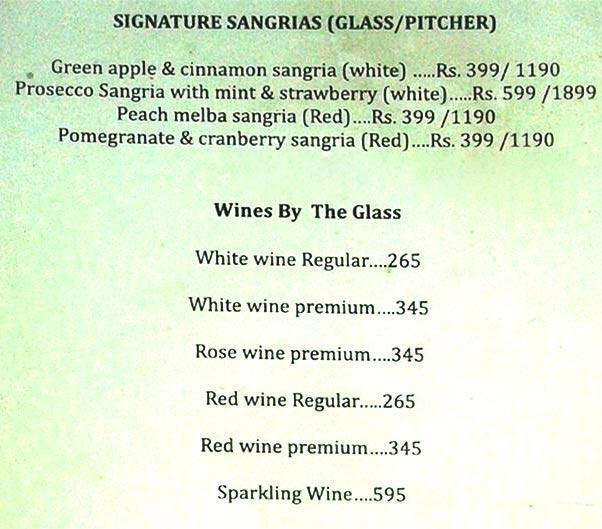 The Wine Company menu 10