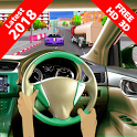 Race Car in Extreme Traffic : Car Racing  Game icon