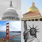 US Cities and Capitols Quiz Icon