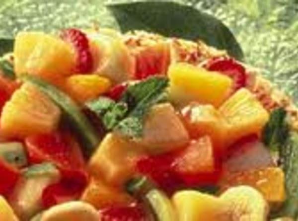 Cool Tropical Coconut Dessert Recipe