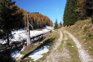 Photo: proti planini Blekova in meji S5/OE