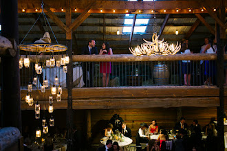 Photo: Hay Barn- reception site Dana Romanoff Photography
