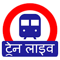 Indian Railway Timetable - Live train location icon