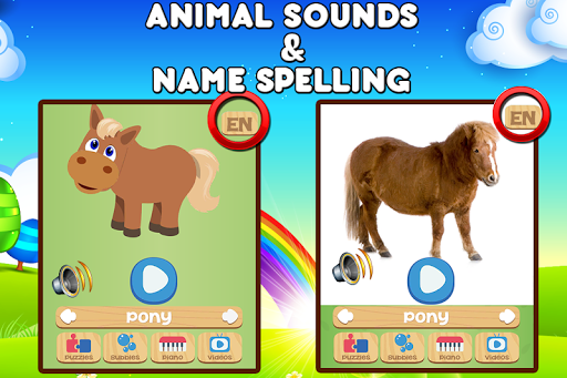 Farm Animals For Toddler 3.1.2 Screenshots 3