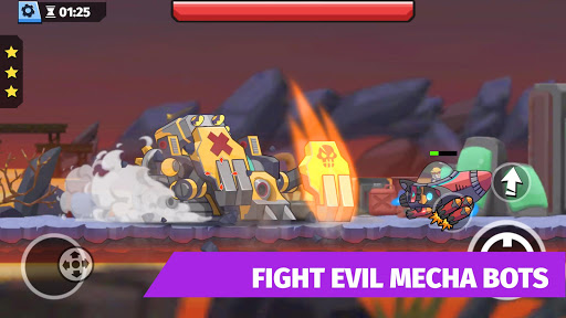 Cyber Dead: Metal Zombie Shooting Super Squad modavailable screenshots 2
