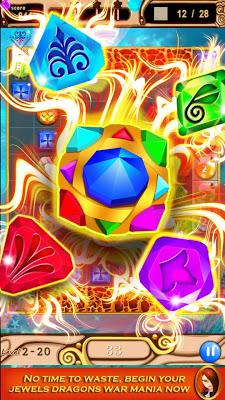 Jewels Dragon Blitz - screenshot