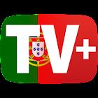 Guia TV+ Portugal free TV guide EPG icon