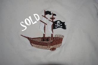 Photo: Pirate Ship  (Close up of shirts in WCW set)