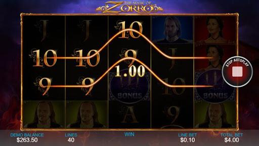 Casino Free Slot Game - THE MASK OF ZORRO 1.0.1 screenshots 4