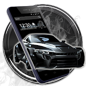 Black Cool Car Theme Android APK Download Free By Cool Launcher Theme