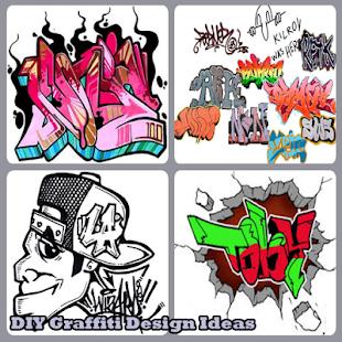 DIY Graffiti Nápady design - náhled
