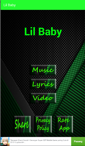 Lil Baby - Close Friends Songs Lyrics 1.3 screenshots 1
