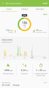 S Health Screenshot 3