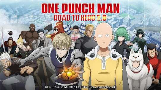 One-Punch Man: Road to Hero 2.0 MOD Apk 2.0.28 (Unlimited Money) 1