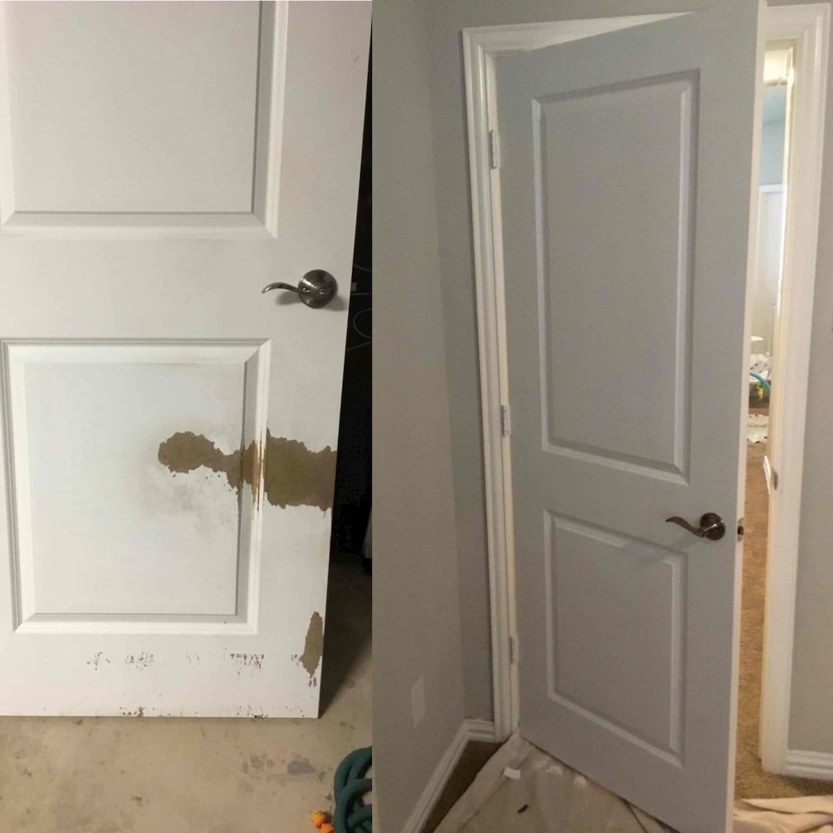 Mr. Handyman door repair and installation.