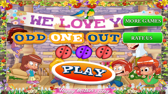 Odd One Out Kids Puzzle Games Lite - náhled