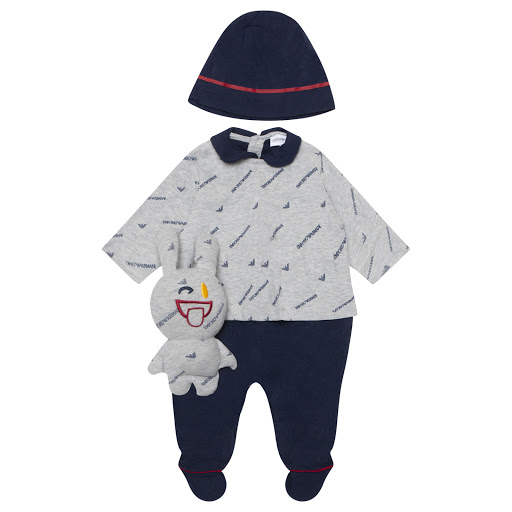 Primary image of Emporio Armani 3 Piece Babysuit Set