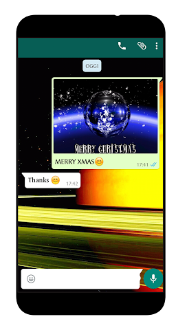 android Merry Christmas Greetings Screenshot 0