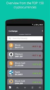 Cryptochange - náhled