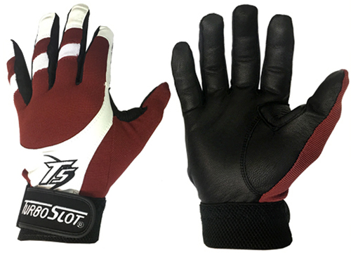 Original TurboSlot Batting Gloves in Maroon