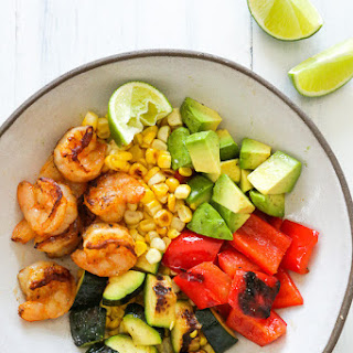 Grilled Shrimp And Vegetables Recipes
