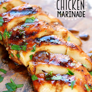 The BEST Chicken Marinade.