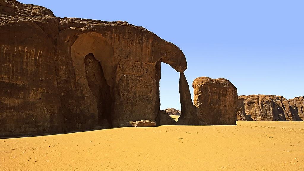Ennedi Plateau, o jardim secreto do Sahara