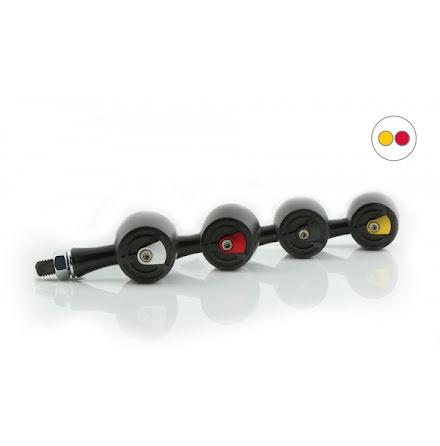 HIGHSIDER CNC LED 3in1 Rear, brake, indicator light ENTERPRISE-EP1