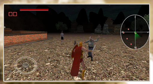 Spartan Zombie Battle