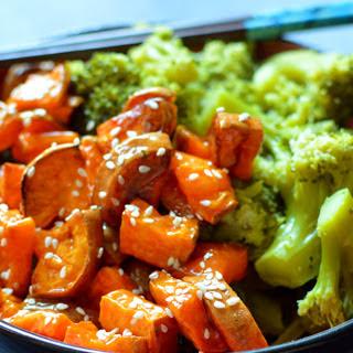 Sesame Orange Sweet Potato [Vegan].