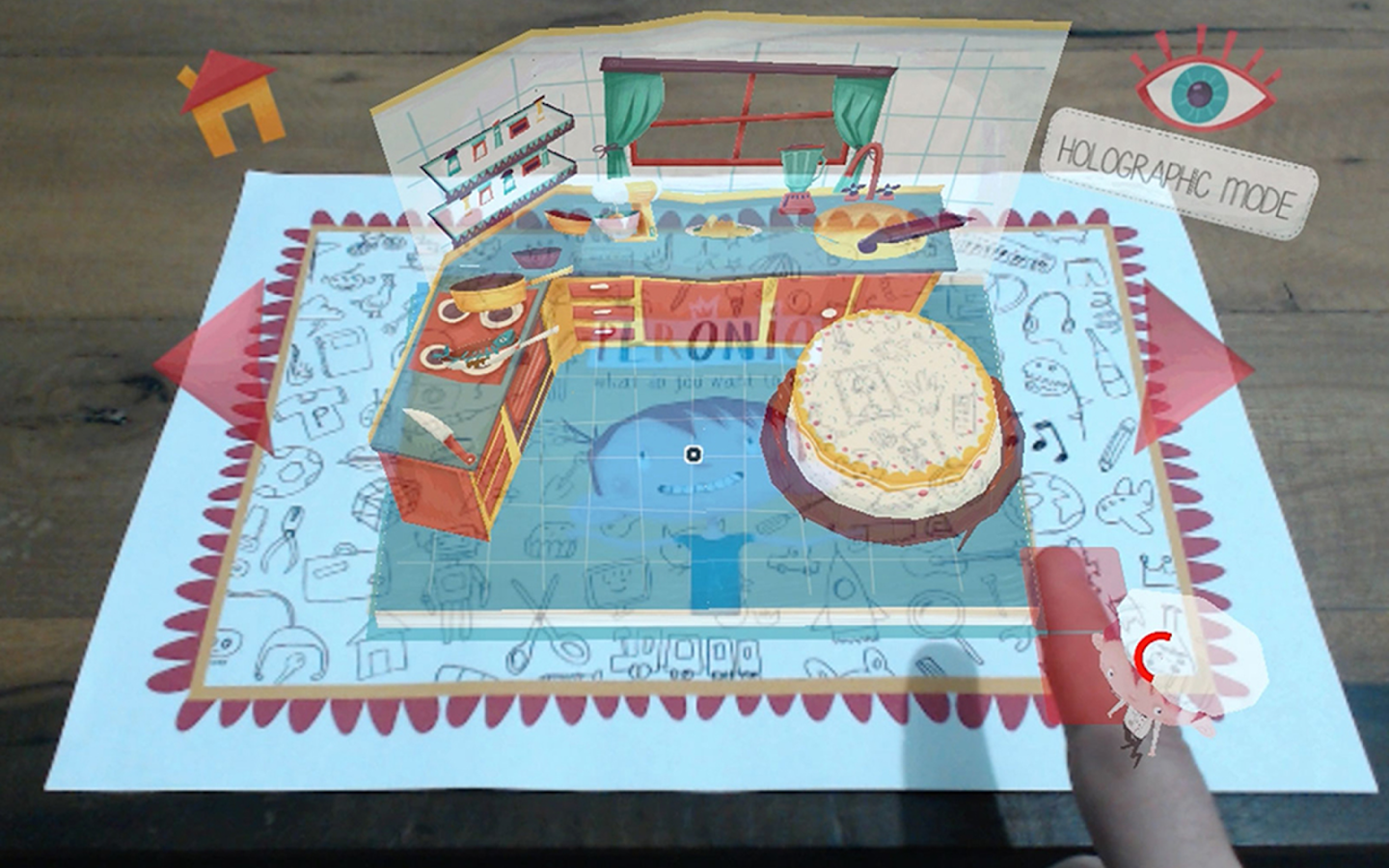 Peronio Pop-up Book- screenshot