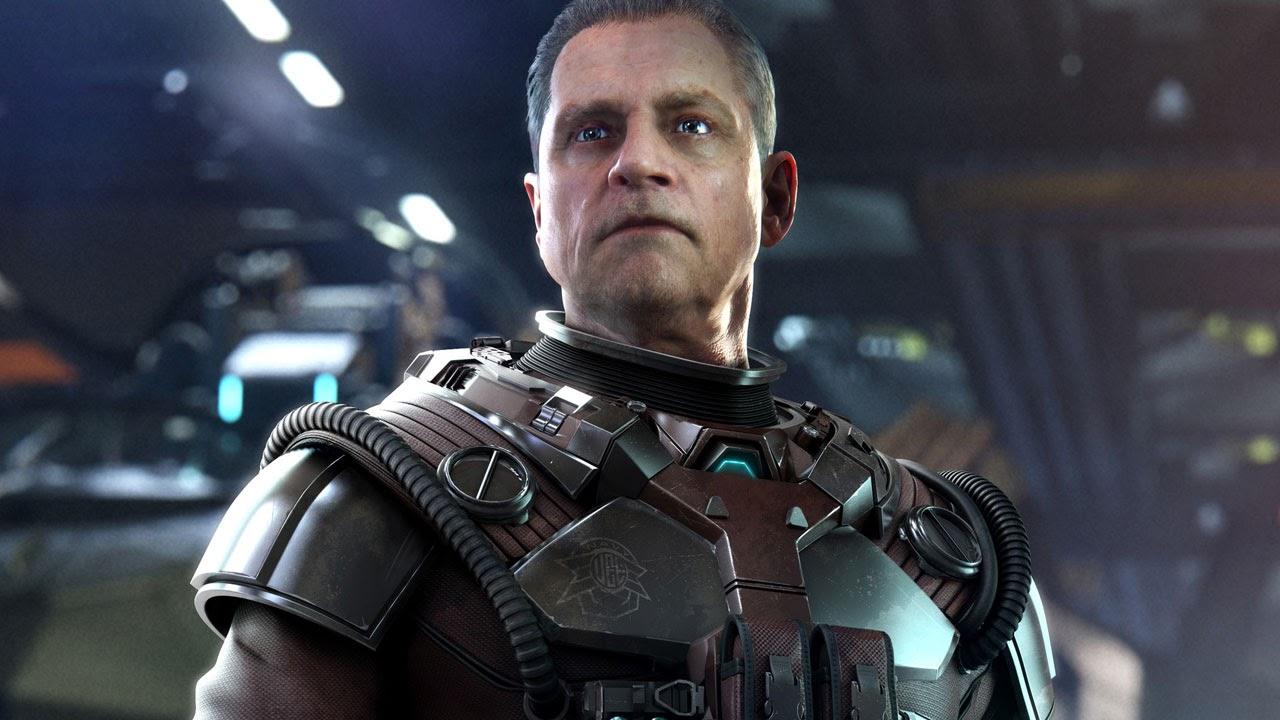 Star Citizen - Tryb Squadron 42 - Mark Hamill jako postać z gry