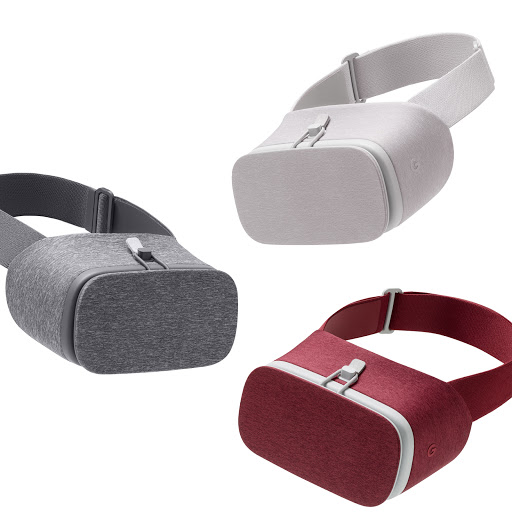 The Daydream View headset