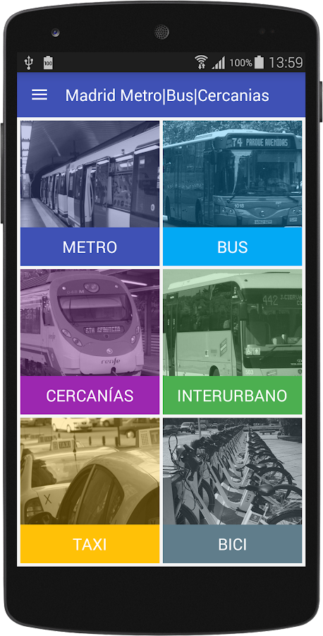 Madrid Metro | Bus | Cercanias: captura de pantalla