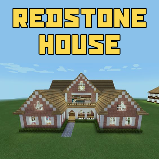 Redstone House Map Minecraft Icons