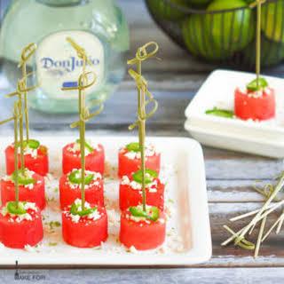 Margarita Watermelon Bites.