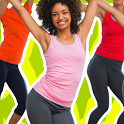 Dance Fitness workout exercise icon