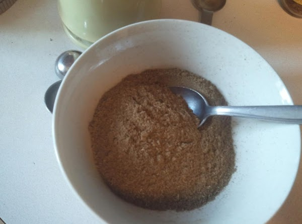 I run mine through a coffee grinder as well to really powder and mix...