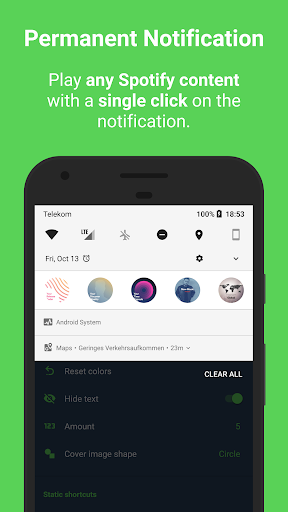 Sign for Spotify - Spotify Widgets and Shortcuts screenshot 2