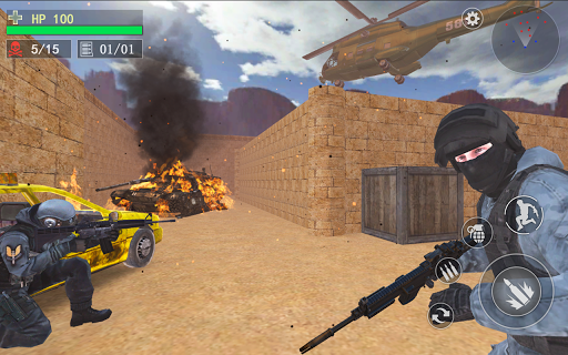 Counter Terrorist--Top Shooter 3D screenshot 9