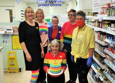 Rainbow Day at Boots raises £176