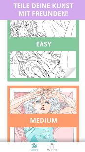 Manga Anime Coloring Book Seiten Für Erwachsene Apps Bei Google