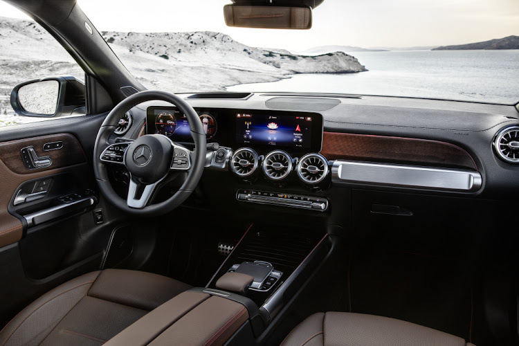 The dashboard and layout is identical to that of the GLA.