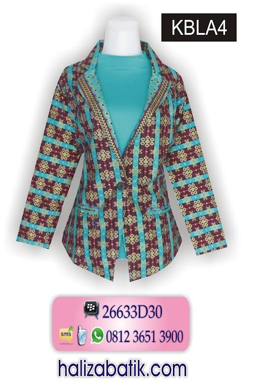 model batik kerja, batik wanita modern, grosir baju murah