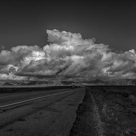 Utah highway by Kerry Perkins - Landscapes Travel