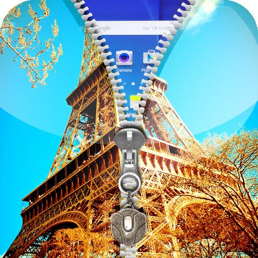 巴黎拉链锁屏 工具 App LOGO-APP試玩