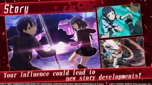 Sword Art Online: Integral Factor 1.5.7 screenshots 3
